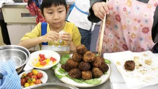 金沢母子会料理教室